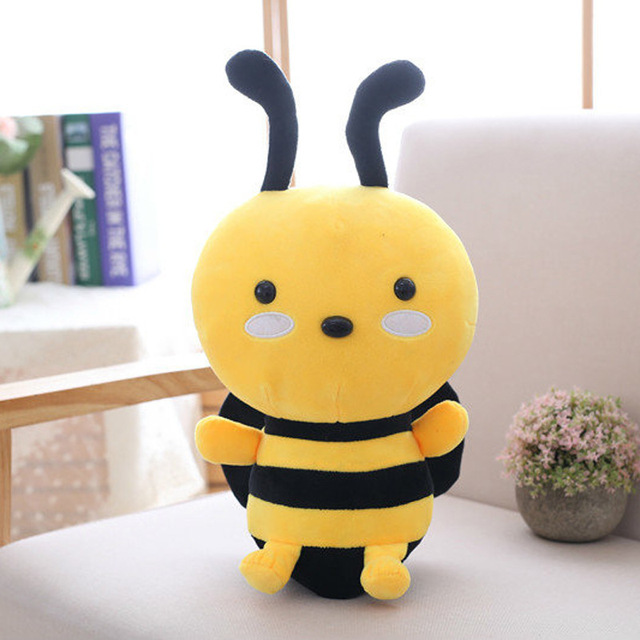 Christmas Gift Stuffed Animals & Plush Baby Pillows Plush Classic Toys kid Toys Baby Stuff Bee Dolls & Accessories Action & Toy