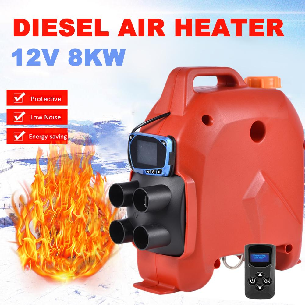 Belief Heater 5KW 12V24V Auxiliary Heater In Electric Heaters Air Diesel Fuel Heater For Car Dry Hair Dryer For Car Trucks Boats