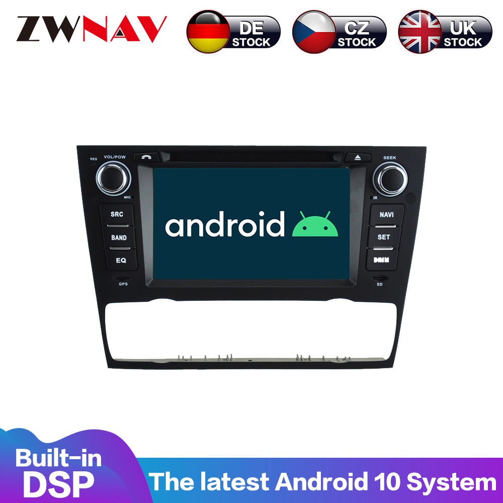 FOR Android9.0 Ca GP Navigation radio BMW E90 Saloon E91 Touring 2005-2012 Multimedia Player Auto Radio HeadUnit NO DVD player image