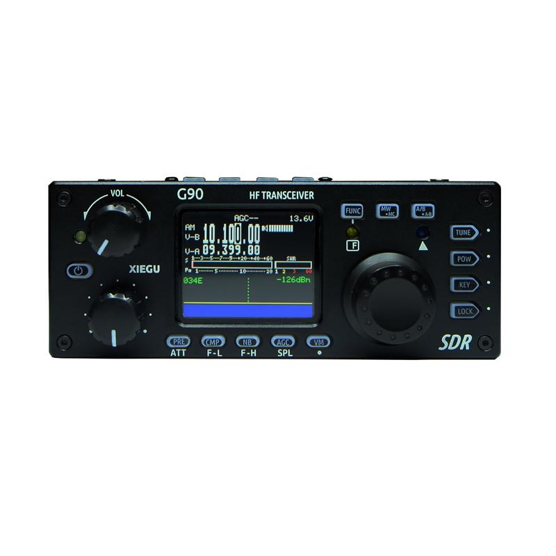 XieguG90 открытый коротковолновый радио SDR портативный приемопередатчик HF 20 Вт/CW/AM/FM 0,5-30 МГц SDR структура встроенный Авто антенный тюнер