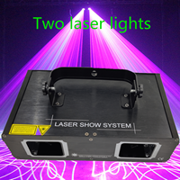 Factory Outlet Laser Lamp 2 Head Laser Dual Hole Stage Effect DMX512 Lighting For DJ Disco Party KTV Nightclub And Dance Floor