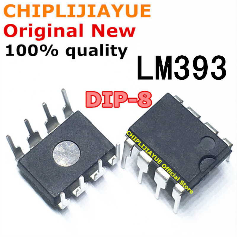 10PCS LM393P DIP8 LM393 LM393N 393 DIP-8 DIP New And Original IC Chipset