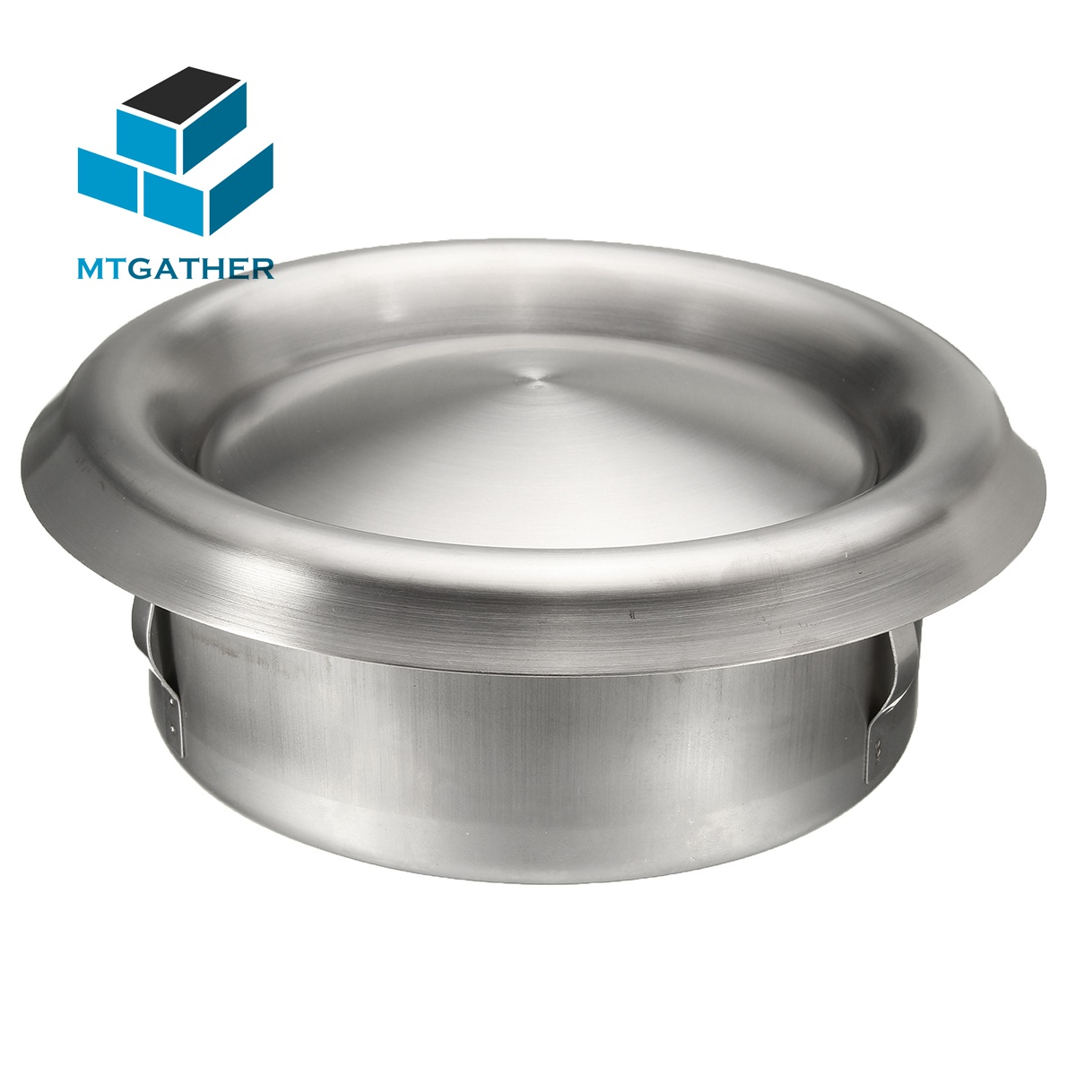 MTGATHER 3 Sizes Stainless Steel Vent <font><b>Duct</b></font> Grill Tumble Dryer Cooker Extractor <font><b>Fan</b></font> Heating Cooling & Vents <font><b>100mm</b></font> 125mm 150mm image