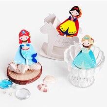54個王女ヒーロー漫画キャンディロリポップ装飾カード子供の誕生日パーティー用品キャンディーギフトアクセサリー