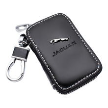 Чехол для ключей из натуральной кожи, Модный чехол для автомобильных ключей Jaguar XF XE XJ F-Pace X-Type S-Type F-Type E-Pace XK