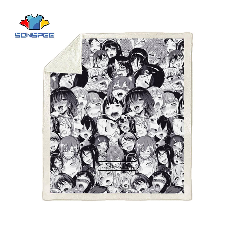 A1,100X140CM SSLLC Anime Cartoon Couverture pour Enfants,3D Imprimer One Piece Couverture en Peluche Sherpa Ultra Douce Throw Couverture Polaire pour canap/é dext/érieur