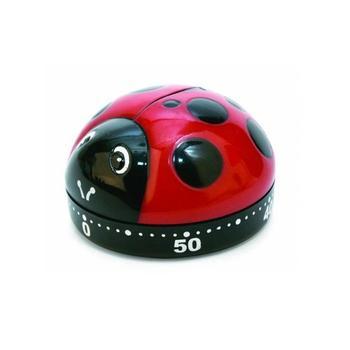 Cyfrowy zegar kuchenny duże cyfry głośny Alarm Lady Bug Alarm zegar ozdobny gotowanie mechaniczne minuta narzędzie do gotowanie pieczenia sport tanie i dobre opinie