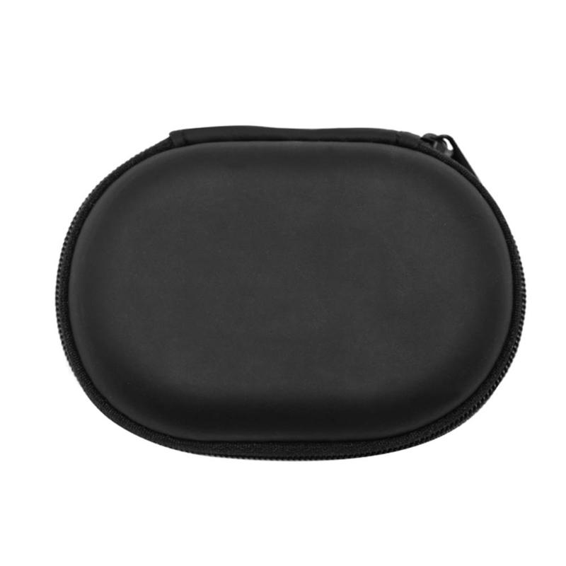 Portable PU Earphones Storage Bag for KZ Dustproof Anti-fall Headset Organizer KZ/CCA/iPhone/Huawei Wired Earphone Case