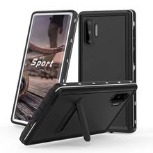 PC+TPU Shockproof Underwater case For Samsung S8 Plus S9 S10 Note9 IP68 Waterproof Shock Dirt Snow Proof  Full Cover