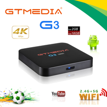 Brzsil stock Android TV Box GTmedia G3A iptv box
