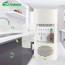 فلتر الهواء المنزلي لتنقية الأوزون معقم الحائط مولد أوزون 110 فولت 220 فولت لتنقية الهواء مزيل الروائح لإزالة فومادهايد