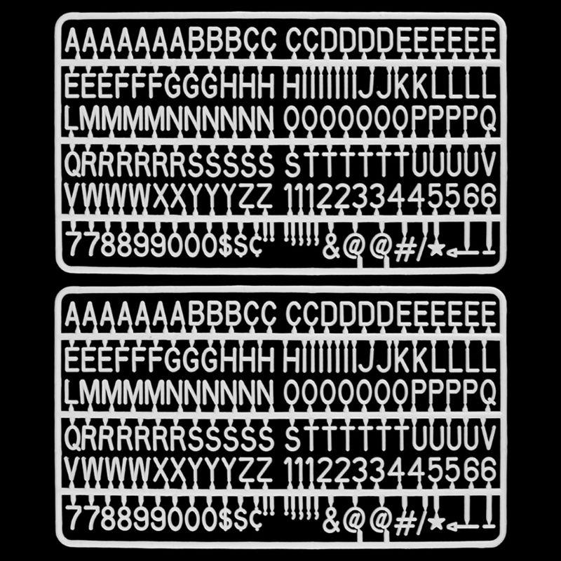Доска с буквами в наборе, 300 цифр, специальные символов, слова для войлока, сменные сообщения, знаки и буквы, белые пластиковые