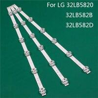 Reemplazo de pieza de iluminación LED para LG 32LB5820-ZJ 32LB582B-ZJ 32LB582D-TB Barra de luz de fondo de tira de línea regla DRT3.0 32 A B