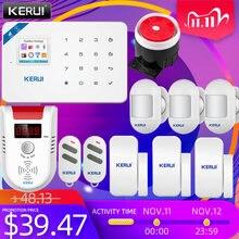 Охранная сигнализация сирена Системы kerui w18 домашняя система