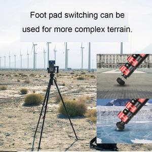 Image 5 - Ifootage غزال سلسلة السفر ترايبود TC7 ألياف الكربون/سبائك الألومنيوم المهنية التصوير ترايبود لسوني كانون DSLR