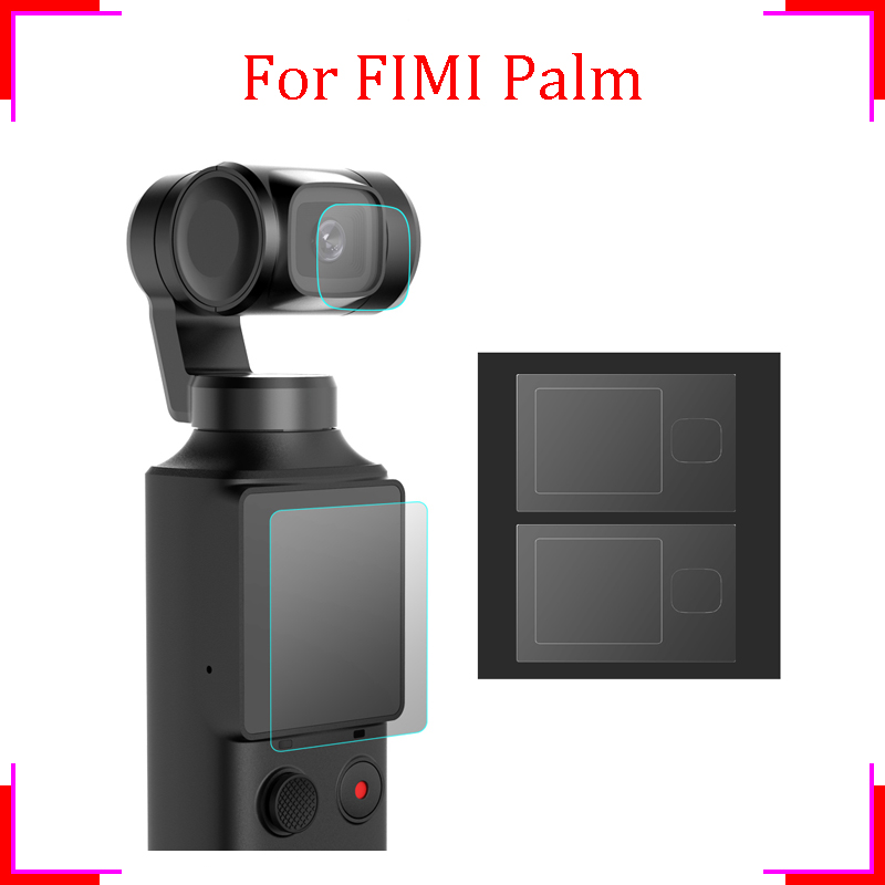 FIMI PALM screen protector Combo Protective Cover 2pcs Lens Film 2pcs Screen Film FIMI PALM accessory gimbal camera Accessories
