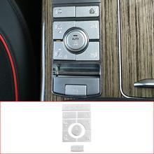 לנד רובר ריינג רובר ווג 18 20 רכב סטיילינג אלומיניום סגסוגת מרכז קונסולת מצב התאמת כפתור פאייטים רכב אבזרים