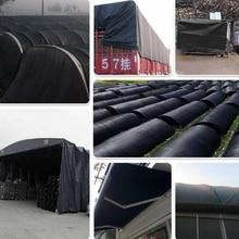 Black Garden Balcony Waterproof Tarpaulin Car Truck Sunshade Tarp High Quality Thickening Outdoor Plastic Tarp