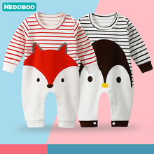 Medoboo Girl Boy Baby Clothes Jumpsuit for Newborns Overalls Children Autumn Winter Romper New born Costume