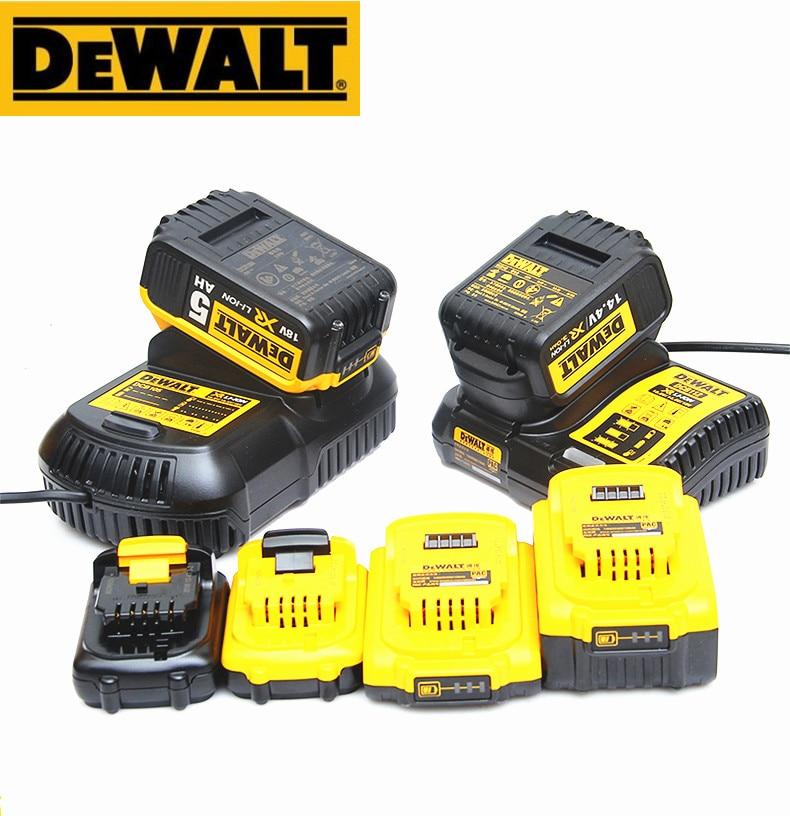 DEWALT Original DCB107 DCB112 DCB115 DCB118 10.8V Charger 14.4V 18V 20V 60V For Universal Lithium Battery