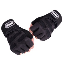 Gym Gloves Heavyweight Sports Exercise Weight Lifting Gloves Body Building Training Sport Fitness Gloves for Fiting Cycling cheap C001 Sports gloves Training gloves Neutral male and female
