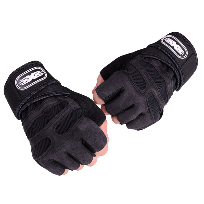 Gym Gloves Heavyweight Sports Exercise Weight Lifting Gloves Body Building Training Sport Fitness Gloves For Fiting Cycling
