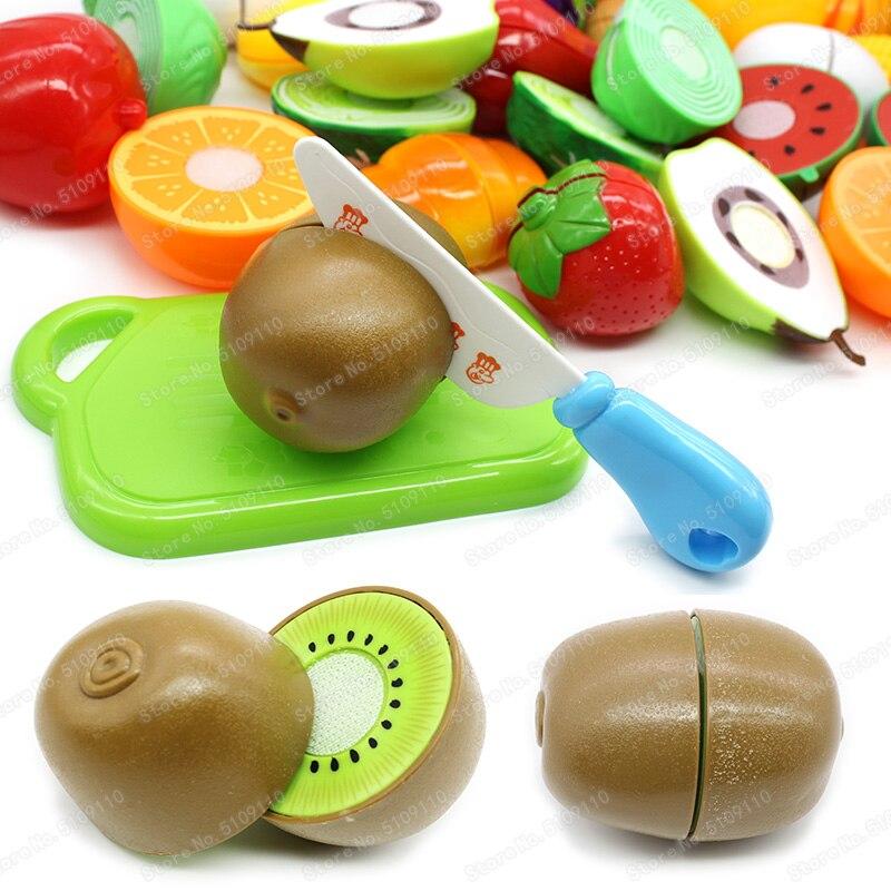 2PC-Pretend Food Kitchen Set Pans Toy Play Hamburger Cake Shop Kids Gift Xmas
