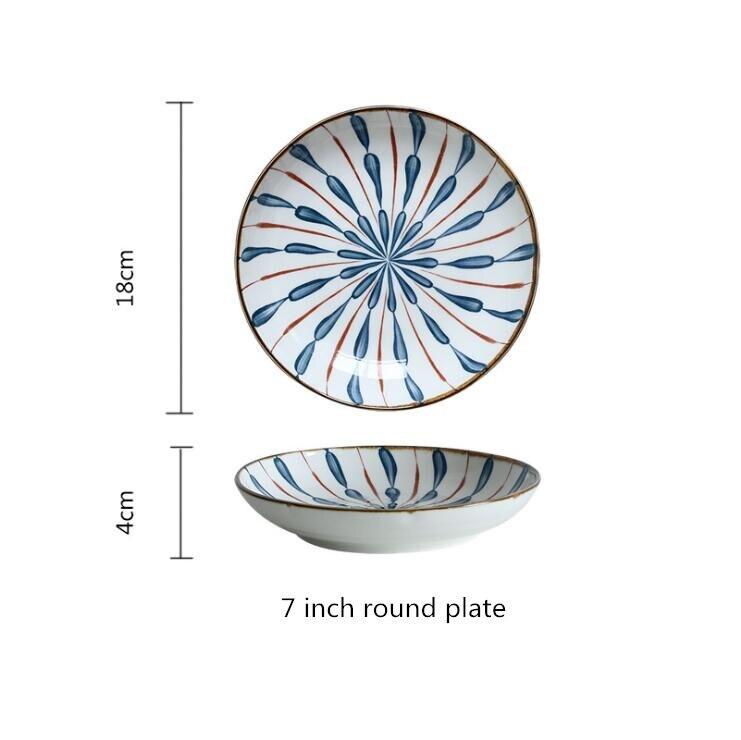 7inch round plate