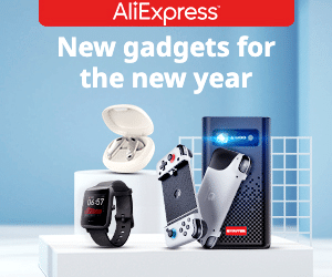 AliExpress New Year Gadgets Offer