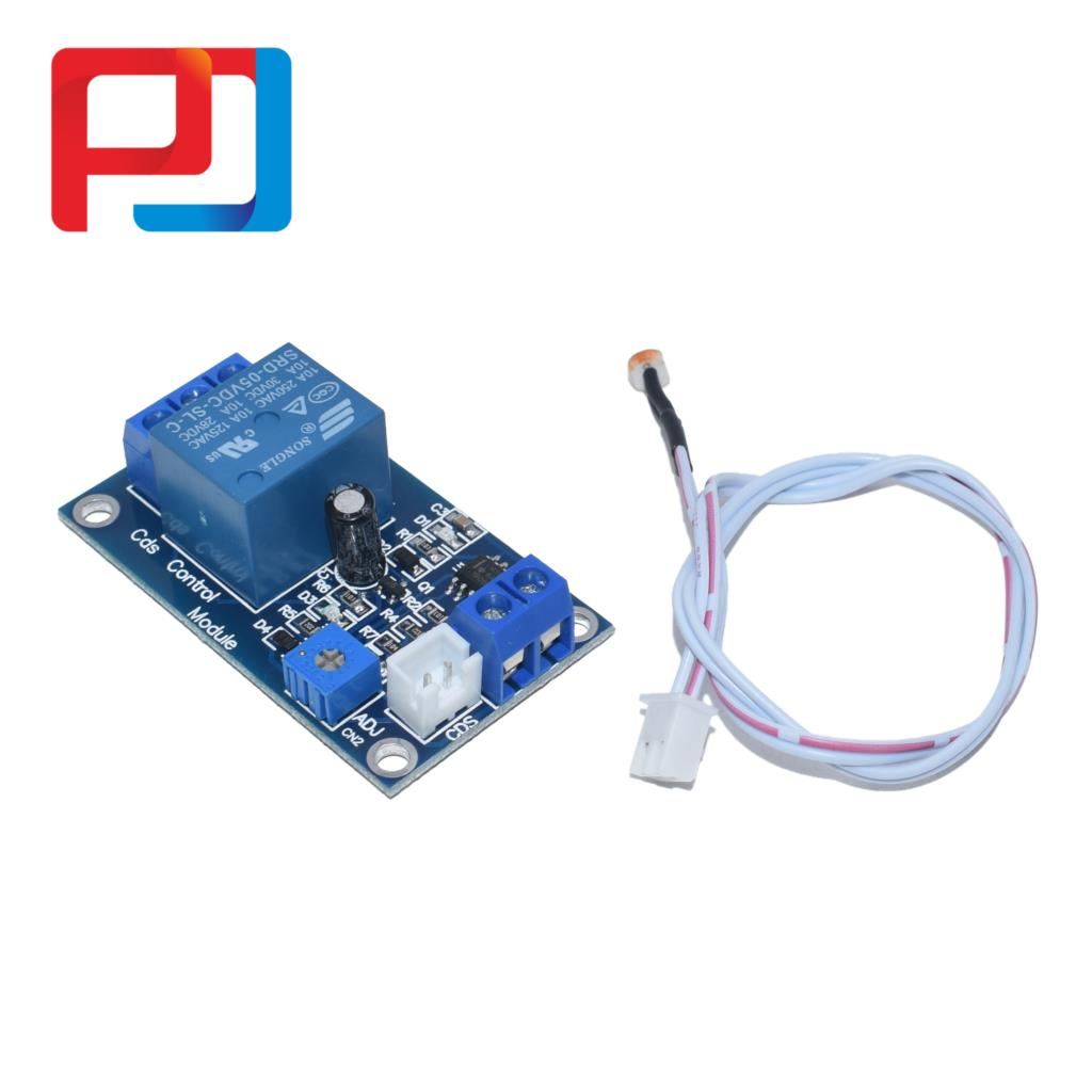 Image 2 - XH M131 DC 5V/12V Light Control Switch Photoresistor Relay Module Detection Sensor 10A brightness Automatic Control Module 10PCSConnectors   -
