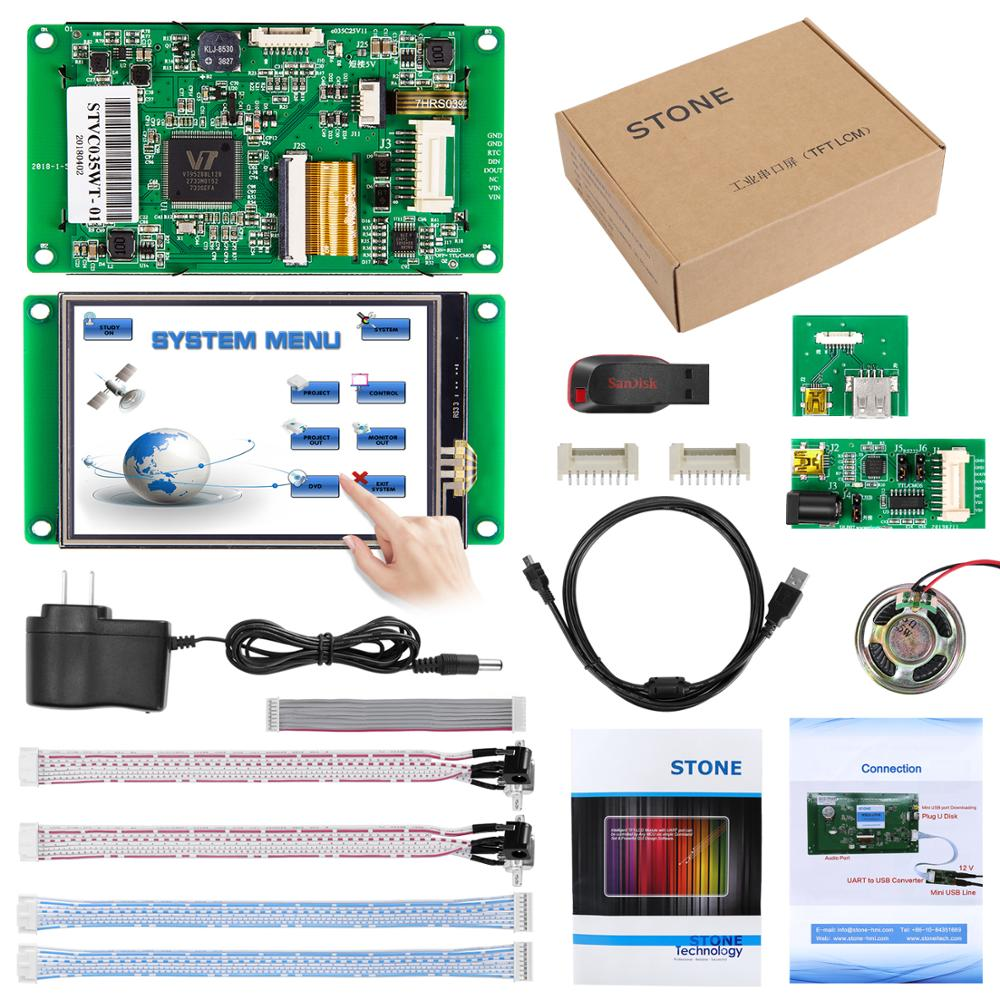 Embedded Touch Monitor 3.5