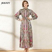 Женское модельное платье с длинным рукавом элегантное винтажное
