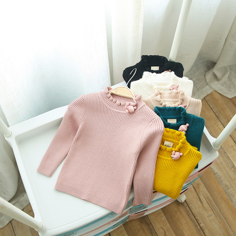 Le Constant Autumn And Winter New Style Girls 2018 CHILDREN'S Sweater