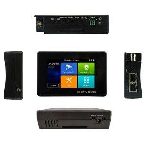 Image 4 - Yükseltme IPC 1800 artı CCTV IP kamera test cihazı 5 in 1 H.265 4K IP 8MP TVI 8MP CVI 8MP AHD Analog bilek CCTV Tester monitör ile wifi
