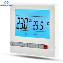 все цены на Nashone Thermostat Temperature Controller 220V 16A LCD Programmable Floor Heating Room Thermostat Room Temperature Controller онлайн