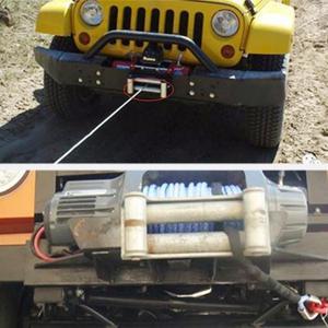 Image 2 - ATV UTV Winch Wire Rope Roller Fairlead Cable Lead Guide for ATV/UTV Winches 3500 lb Wire Fairleads Winch Accessories