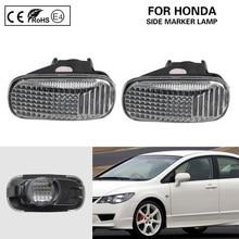 2x צד מרקר אור מנורת איתות ברור OEM עבור הונדה אקורד Civic Fit זרם CR V אודיסיאה