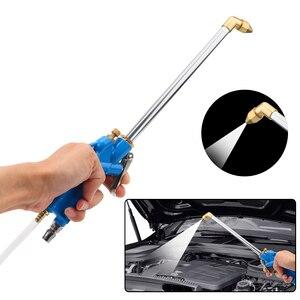 Image 4 - Wysokowydajne pneumatyczne urządzenia do oczyszczania silnika pistolet na wodę z wężem 100cm 40cm silnik samochodowy narzędzia do czyszczenia oleju