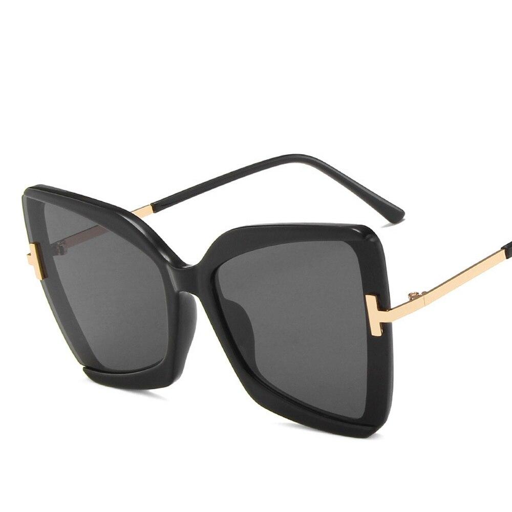 Купить 2020 большие солнцезащитные очки «кошачий глаз» женские новые
