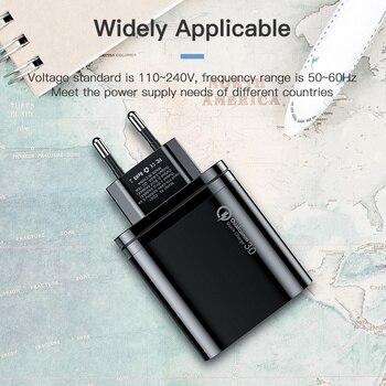 Зарядное устройство KUULAA с USB-портами и поддержкой быстрой зарядки 3,0, 30 Вт 6