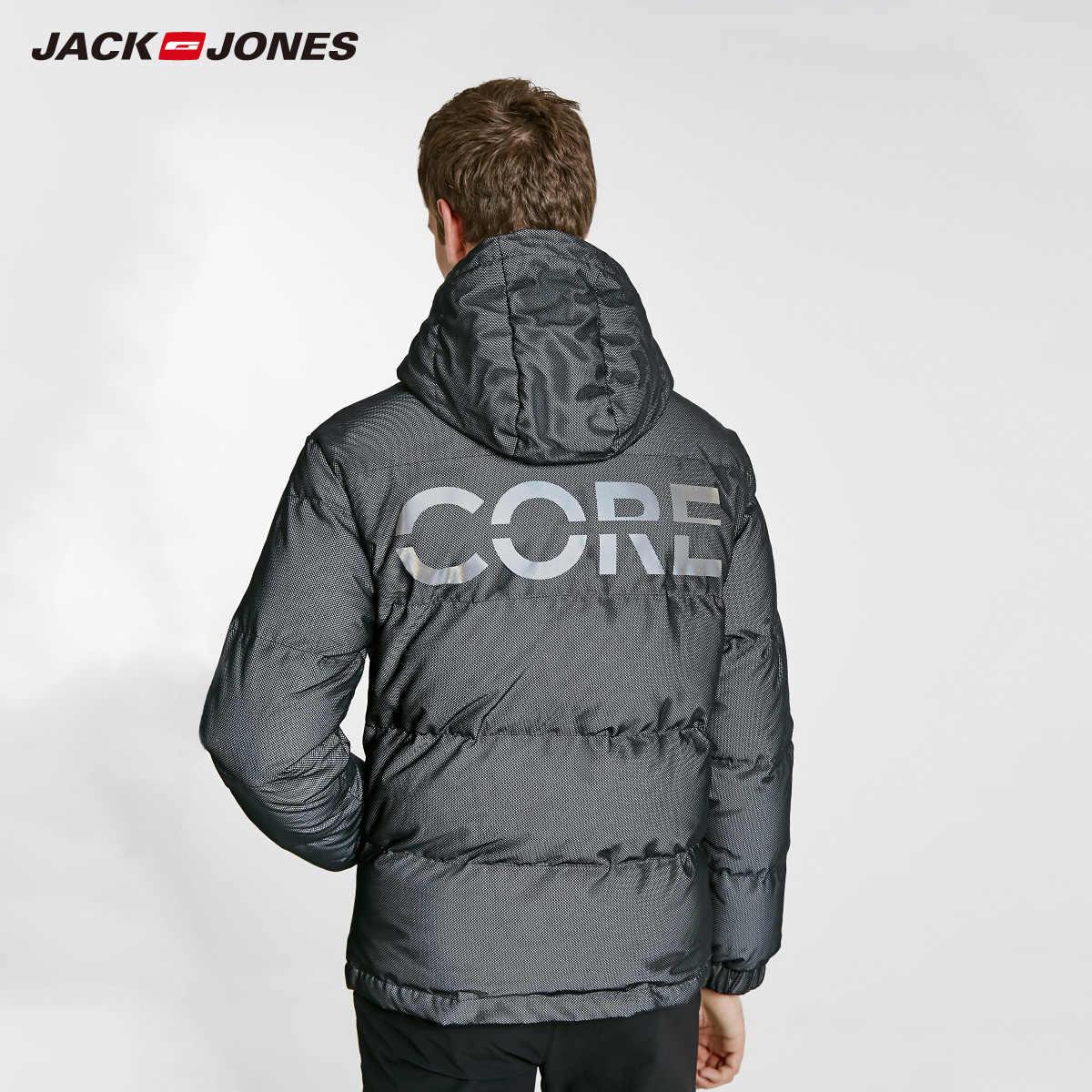 Jack Jones Nam Có Mũ Ấm Áp Xuống Ngắn Áo Khoác | 218412538