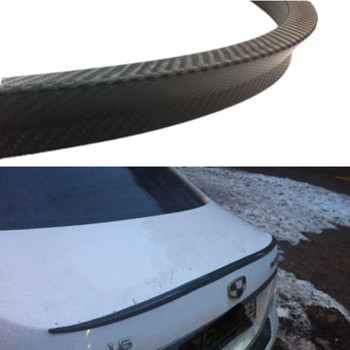 Saloon Rear Boot Lip Spoiler Tail Wing M3 Style For BMW 3 Series E90 4 Door 2005-12 Rear Roof Wings Trunk Lip 119cm image