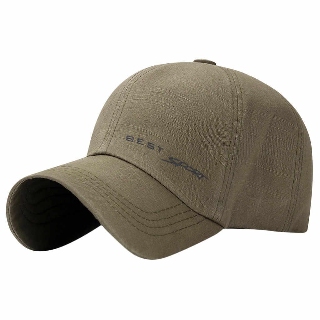 2019 mode solide nouvelle casquette automne marque hommes casquette de Baseball femmes décontracté réglable Hip Hop Streetwear en plein air casquettes de Baseball