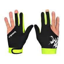 1 шт перчатки для бильярда с тремя пальцами мужчин и женщин