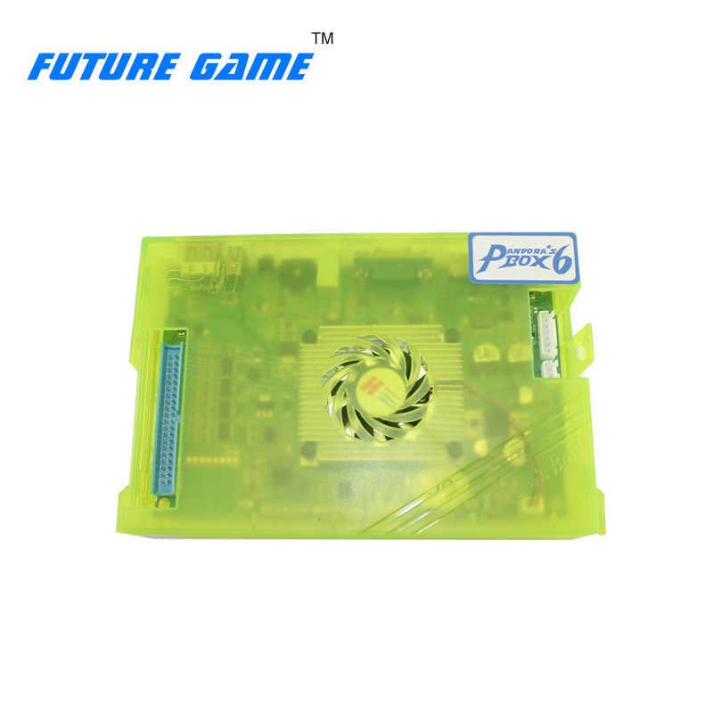판도라 박스 6 홈 아케이드 게임 pc 보드 1300 in 1 jamma 아케이드 게임기 아케이드 키트 용 멀티 비디오 게임 보드 포함