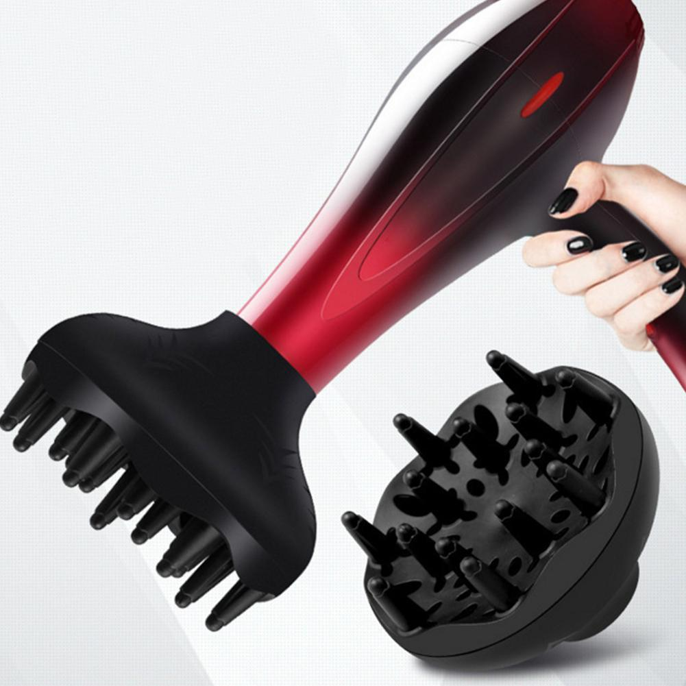 New Universal Hairdryer Diffuser Cover Lightweight Foldable Silicone Hood Blower Hairdressing Salon Curly Styling Hair