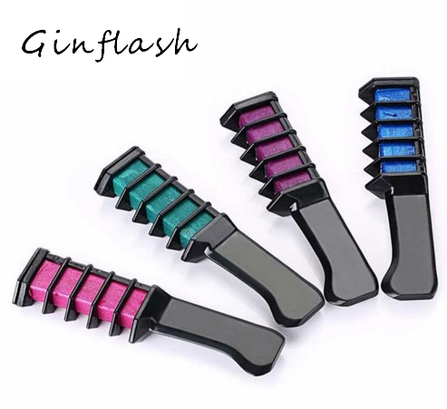 Chalk Mascara Crayon New Design Crayons For Hair Color Chalk For The Temporary Blue Hair Dye With Comb