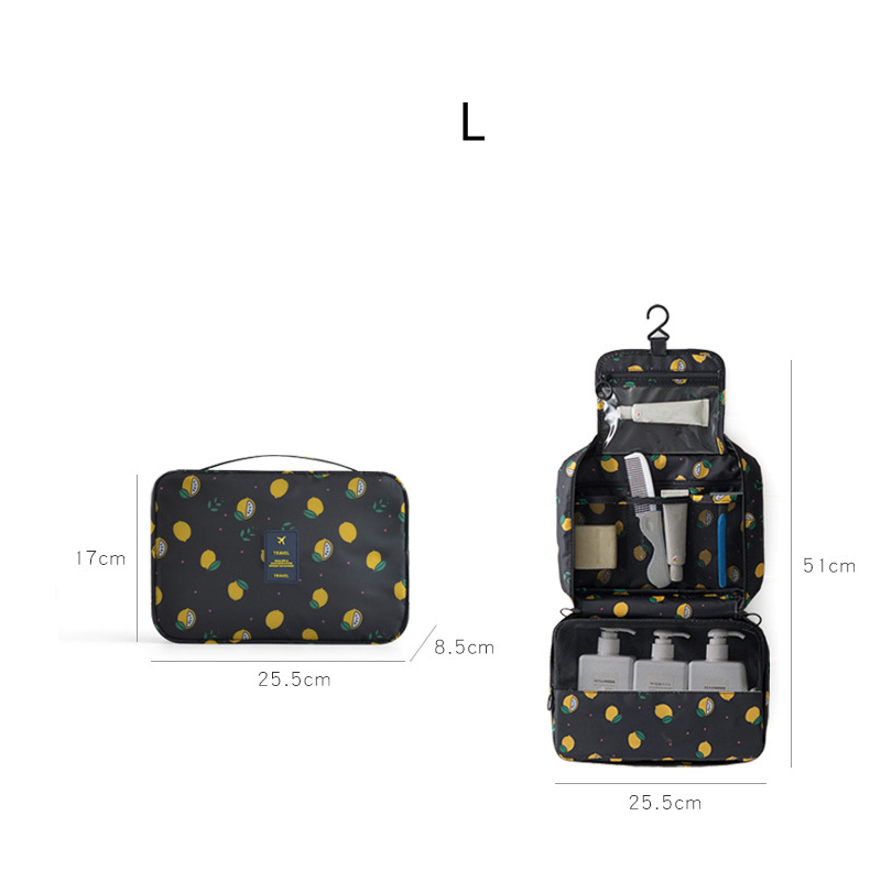 New Travel Packing Organizers wash bag Makeup Cosmetic Toiletry Case Wash Organizer Storage Pouch Hanging Bag Travel Accessories