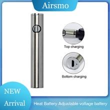 1pcs EGO Battery VV Vape Pen Adjustable Voltage e Cigarette Host Max Heat 650 mah Variable 510