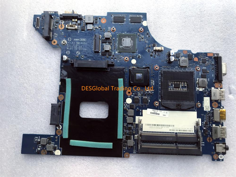 For Lenovo ThinkPad Edge E440 Laptop Motherboard Mainboard AILE1 NM-A151 REV 1.0 Fully Tested Fast Shipping